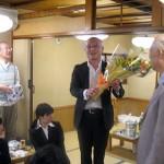 中村先輩の昇段祝いも一緒に行われました