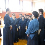 西川先生の稽古