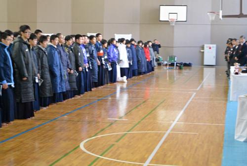 武蔵大学剣道部杯高校生剣道錬成大会01