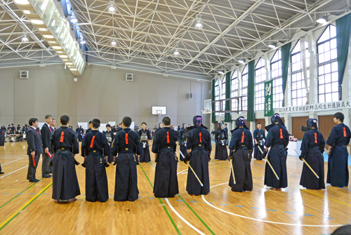 武蔵大学剣道部杯高校生剣道錬成大会04