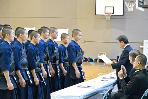 武蔵大学剣道部杯高校生剣道錬成大会07